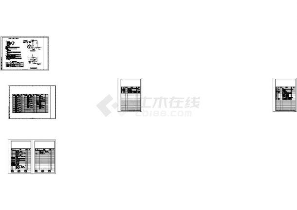某设计中心办公大厦空调通风及防排烟系统cad设计施工图-图一