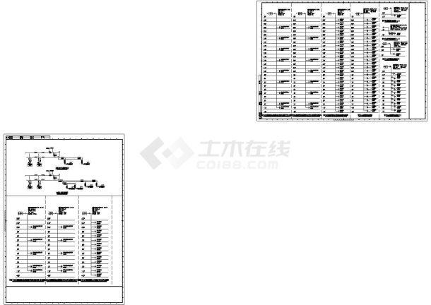 某设计中心办公大厦空调通风及防排烟系统cad设计施工图-图二