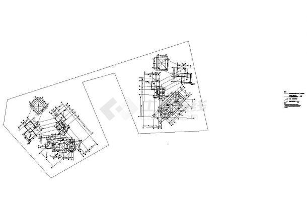 一类高层住宅大楼建筑防雷非常标准设计cad图纸-图二