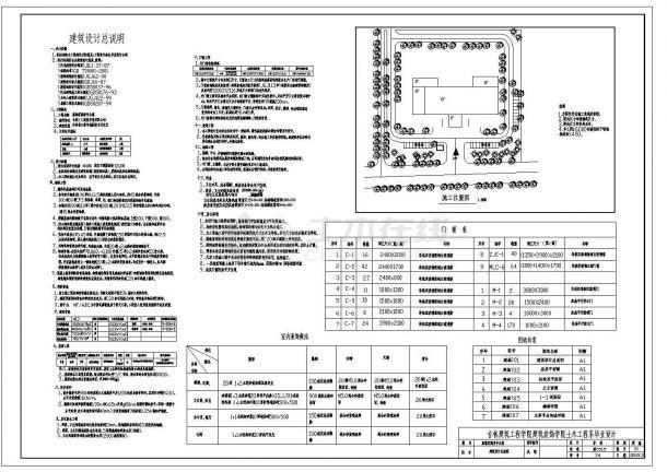 6500平米某7层公寓全套设计建筑设计说明-图一