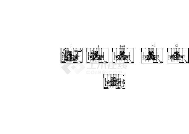 [广东]超高层住宅小区给排水施工图纸106张(7栋楼)(绘图细致)-图一