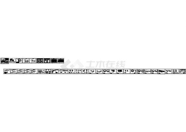 连云港地区某小型塘坝除险加固工程建筑设计CAD施工图-图一
