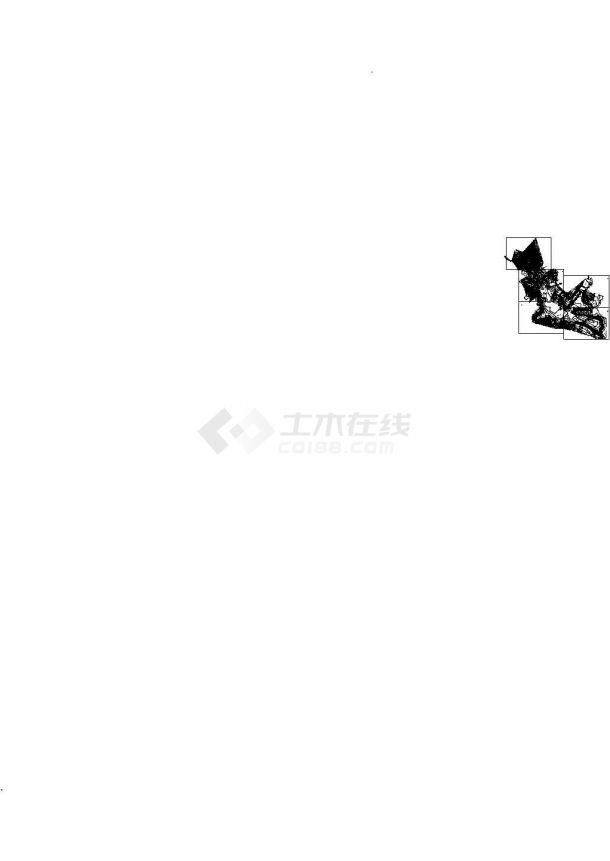 汉中地区某水库除险加固工程建筑设计CAD施工图-图一