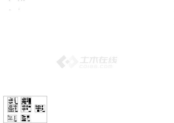 广州某水库堤防维修加固工程建筑设计CAD施工图-图二