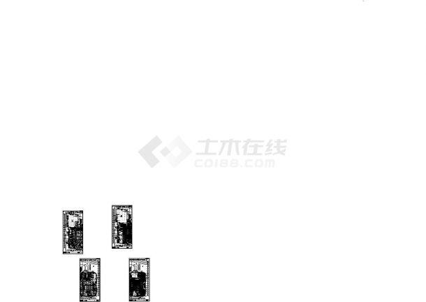 [浙江]某商贸综合楼暖通空调全套施工图-图一