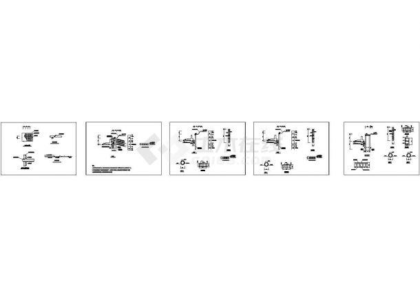 [浙江]办公大厦地下车库深基坑设计施工图纸(CAD)-图一