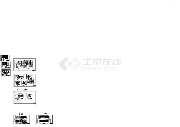 [重庆]29米深基坑桩锚及锚杆挡墙支护竣工图-图一