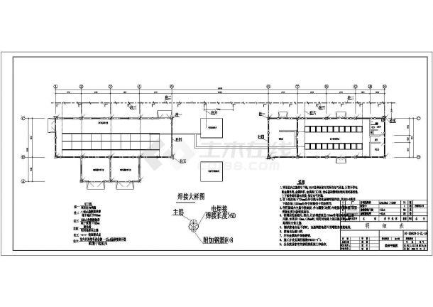 南方某35KV总降压站电气设计图纸-图二