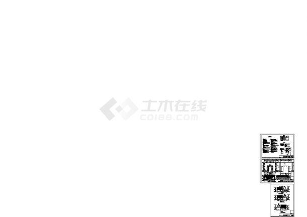 [山东]单层砌体结构海草房结构施工图cad施工图设计-图二