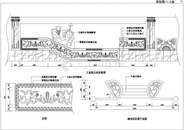 某城市高层宾馆建筑设计方案全套施工CAD图纸-图二