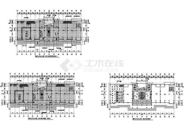 办公楼设计_[兰州]某烟草公司办公楼装修设计施工图-图一