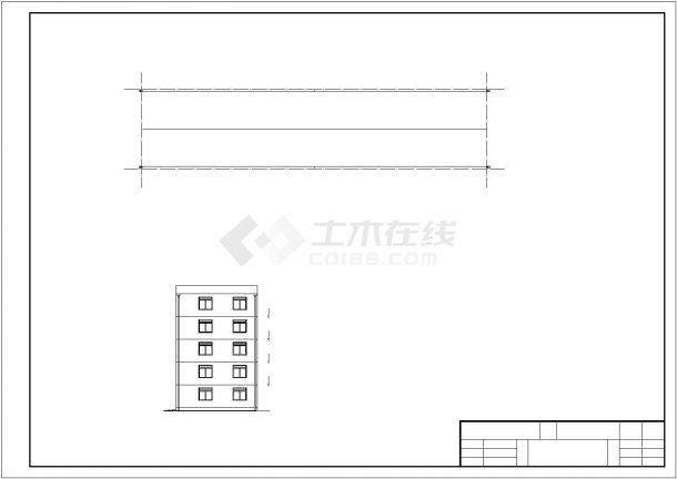 威海市某小区现浇钢筋混凝土框架结构住宅楼建筑设计施工图(含设计说明)-图二