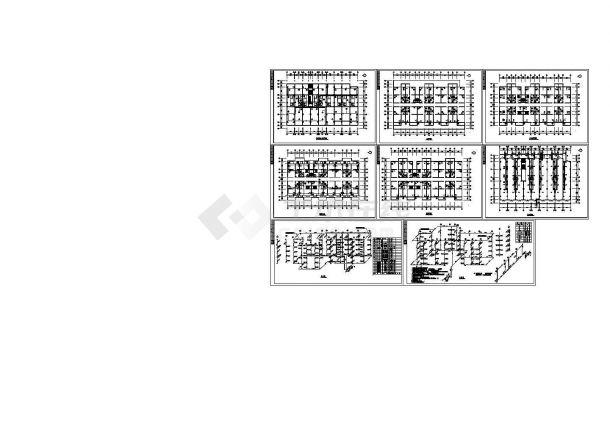 欧陆商城D型采暖设计图纸-图一