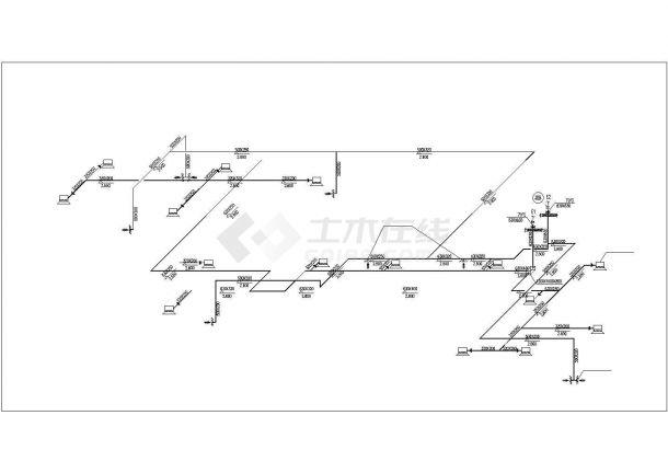北京某甲级医院的住院楼洁净手术部空调+装饰+电气CAD设计图纸-图一