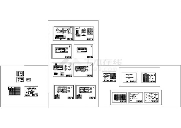 某化水站水处理系统全套设计施工工艺图纸-图一