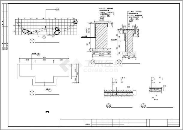 某翠湖新城二期园林景观绿化规划方案设计施工CAD图纸-图一