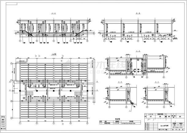 某化企业中水回用工艺流程设计施工图纸-图二