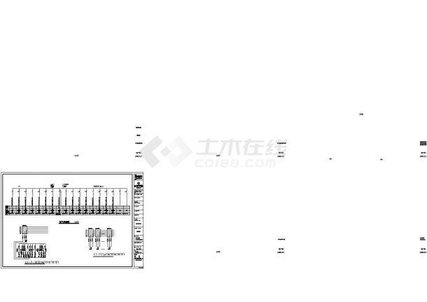 中式酒店电气设计方案及施工cad图纸,共一份资料-图一
