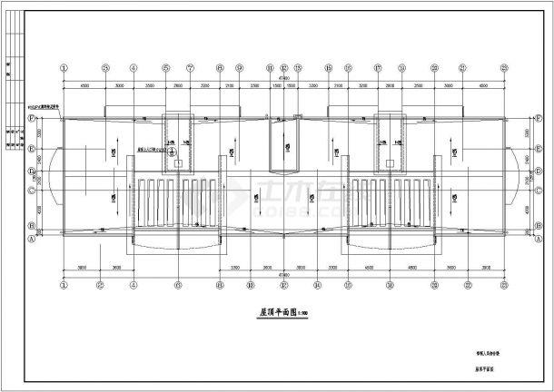 黄冈多层住宅楼CAD大样构造节点图-图一