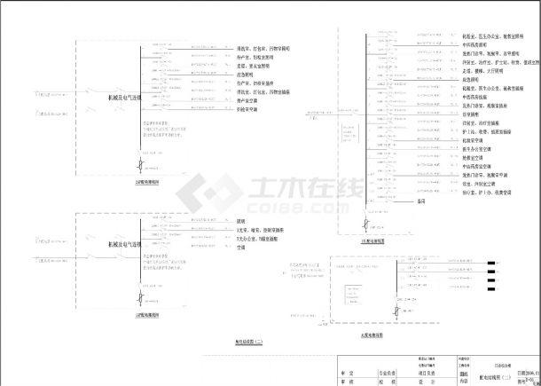 卫生院门诊楼电气设计施工图-图二