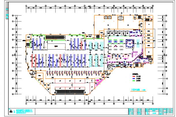 某地多层某大型超市建筑设计施工图-图二