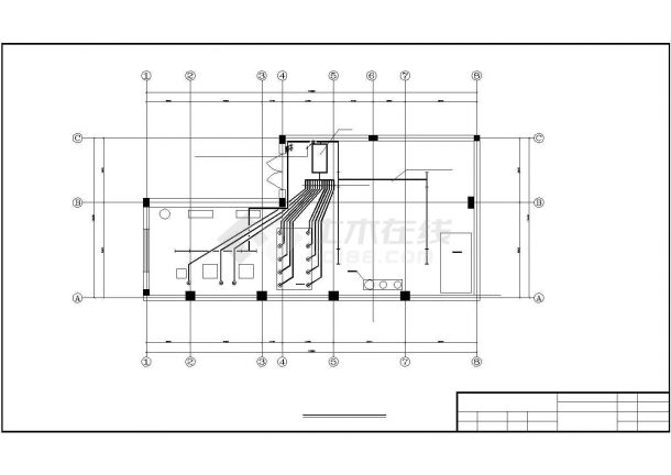 工厂电锅炉配电系统设计方案cad图纸,共一份资料-图一