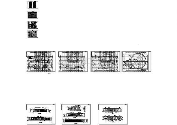 [山东]某7415.89㎡机械有限公司一号厂房项目建筑方案设计图-图二