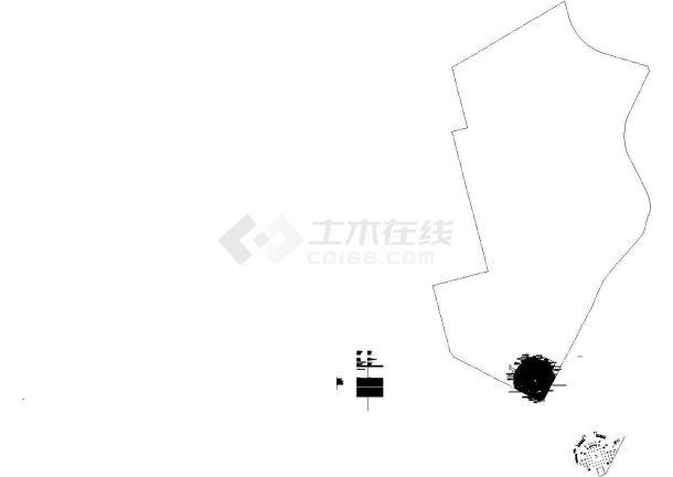 [深圳]公园入口广场园林景观工程设计施工图-图一