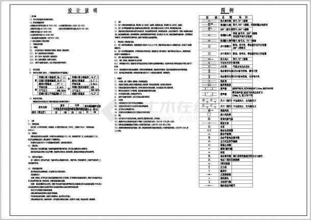 [重庆]地下商场通风空调及防排烟系统设计施工图(含负荷计算、设计说明)-图一