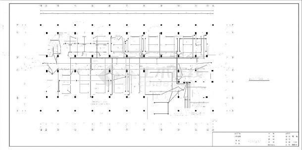 某县中心小型医院电气设备详图-图二