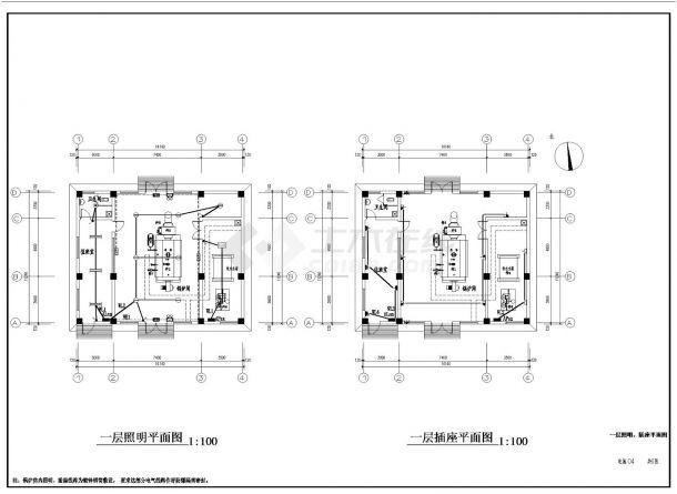 某地区燃气锅炉房电气设计全套施工图纸-图二