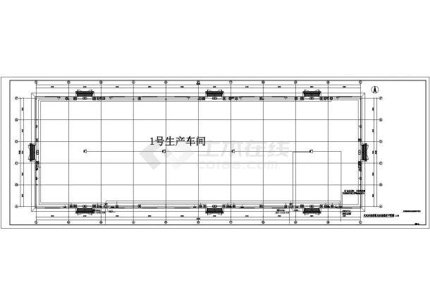 超大空间水炮电气设计图纸-图二