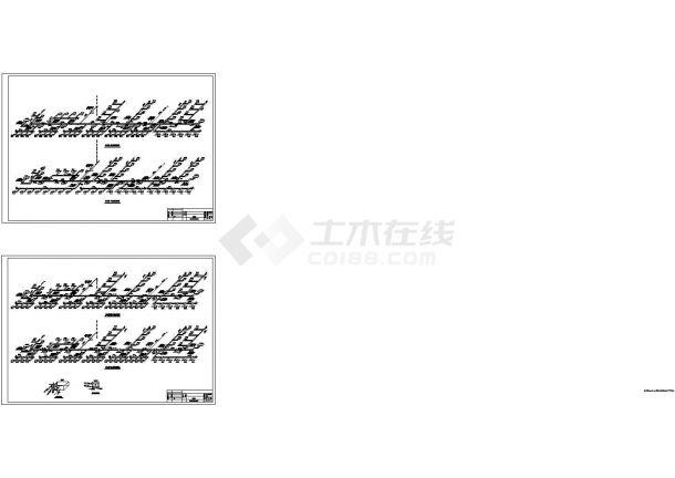办公楼设计_天津某办公楼中央空调施工全套非常标准设计cad图纸-图一