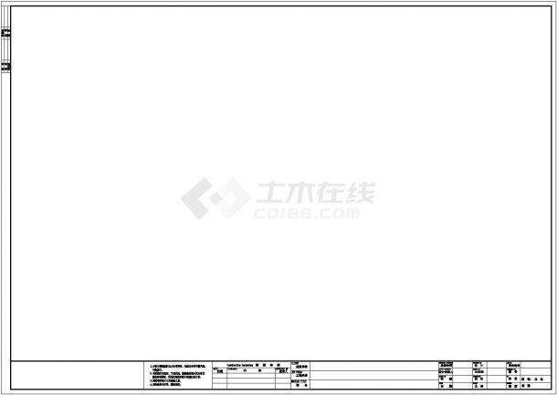 上海KANLE医疗健康体检中心全套装修图cad图纸(含装修设计说明)-图一