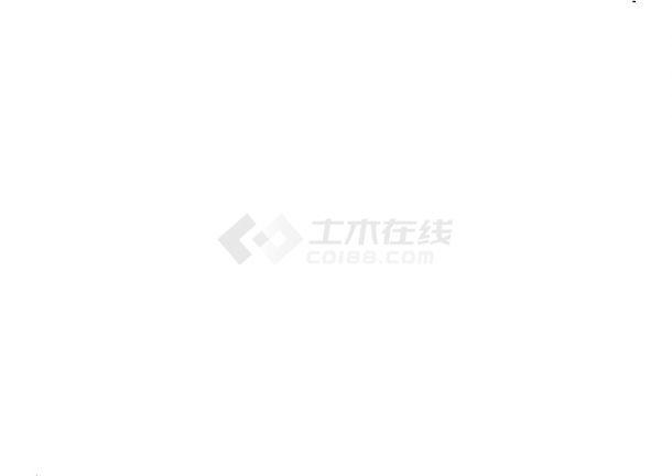 重庆市某工业园南环路硬化工程cad竣工图-图一