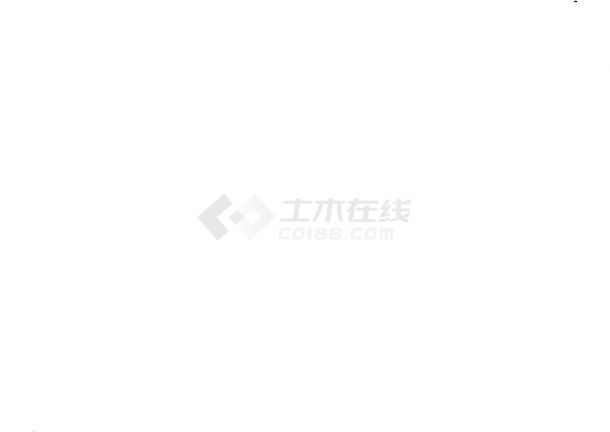 重庆市某工业园南环路硬化工程cad竣工图-图二