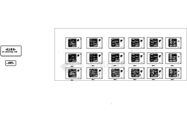 八层综合楼暖通空调通风系统设计施工图,70张图纸-图二