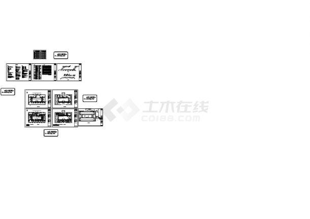 五层办公楼空调通风及防排烟系统设计施工图,20张图纸。-图一