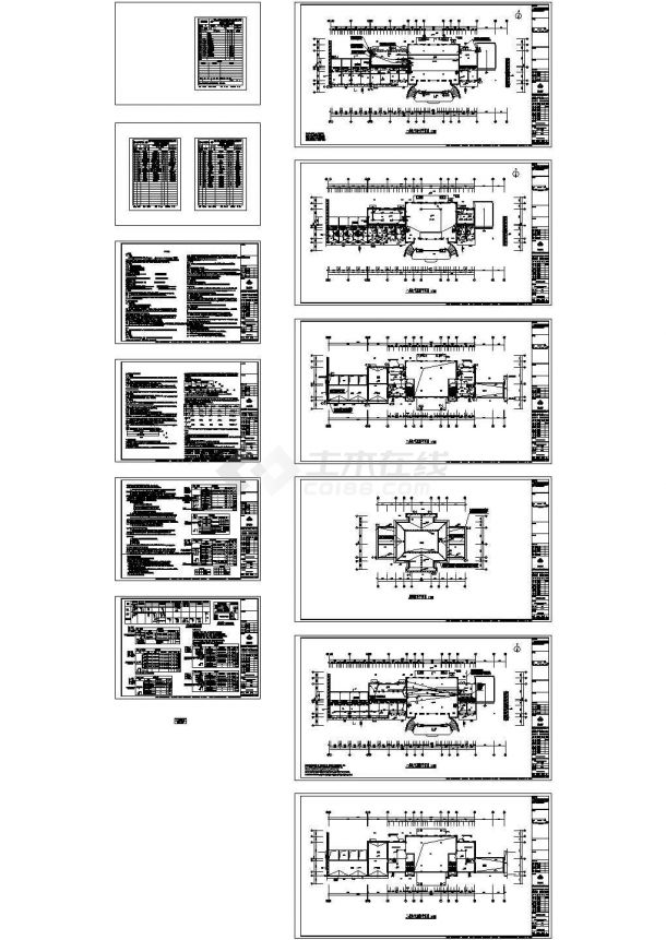 郑州市某高档小区10栋高层住宅楼全套电气设计CAD施工图-图二