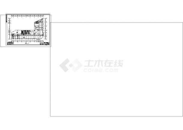 某农贸市场综合楼消防设计施工图(含火灾报警系统图,消防平面图)-图一