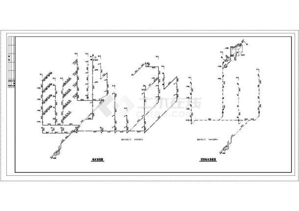 长33.28米 宽16.48米 4层医院综合楼给排水设计图-图二