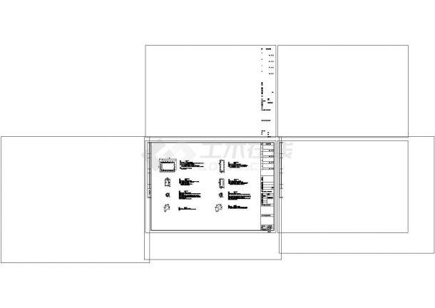 小区弱电系统cad图纸设计-图二