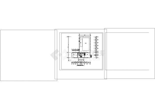 小型游泳馆电施全cad非常标准图纸-图一