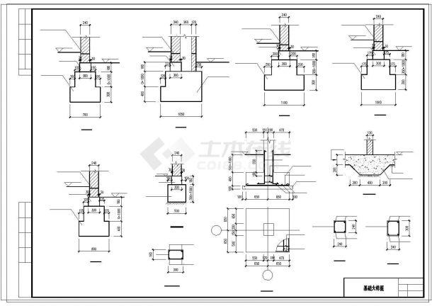 两户双联式别墅建筑结构水电全套设计施工图附效果图-图一