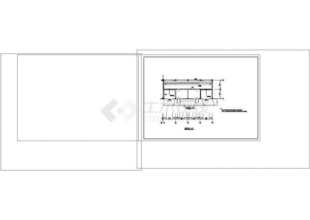 油浸变压器室布置cad图纸设计-图一