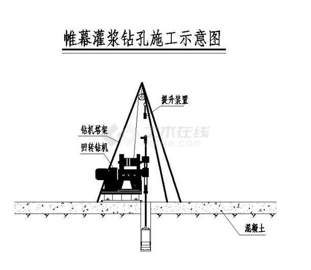 某地大型灌浆施工方法设计图-图二