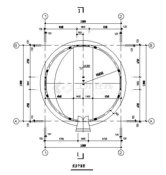 某地区全套集水井结构设计施工图-图二