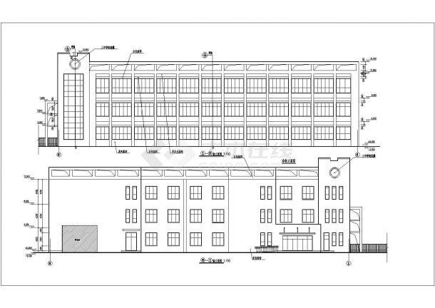 广州市中学音乐教学楼建筑方案设计图-图一