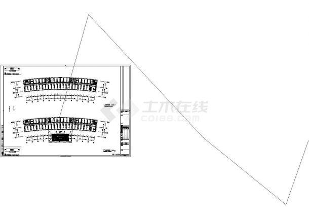 乐山市川府路行政综合服务中心全套强弱电系统设计CAD图纸-图二
