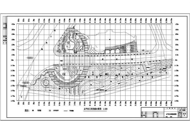 【上海】某地高档会所广场全套施工设计图纸-图二